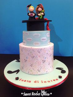 happi song, cake decor, creativ cake, grad cake