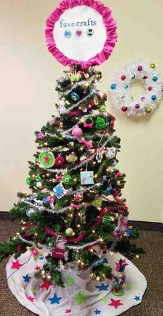 @MichaelsStores Dream Tree Challenge by Fave Crafts Blog #Christmas #holiday #tree