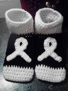 Lung Cancer Awareness Footies/Socks