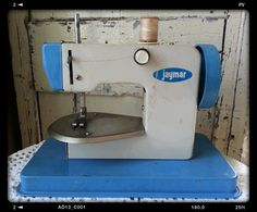 vintage metal Child's Jaymar Sewing Machine by shabbychatue, $24.00