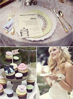 Even more Alice in Wonderland Wedding Theme Ideas