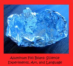 sculptures with aluminum foil