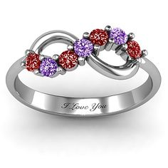 Infinity Birthstone Ring would be am amazing mother's ring