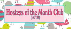 HOTM is a club of 12 ladies who want to participate in a unique group. Each lady must agree to purchase at least $31 worth of Thirty-One product each month, from FEB 2014-JAN2015. Each month, one of the 12 ladies in this exclusive group will get to 'host' the party that month using the orders placed by the other 11 ladies.  Want to learn more? Click on the picture!!!!