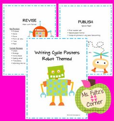 Robot Themed Writing Posters  Google Image Result for http://2.bp.blogspot.com/-r6lEgV0_9QY/T4NXnpt9ZXI/AAAAAAAAAb4/SON81Zs8Xv8/s320/preview.png