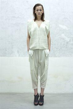 Look 8 Ilaria Nistri - Spring Summer 2013 MFW