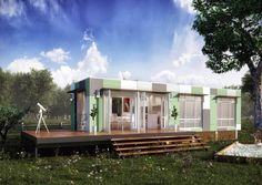 Samara Prefabricated Modular Home | One Bedroom Container Home $60K