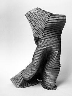 Folded Sculpture by Goran Konjevod