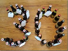 30 beers with 30 reasons why the recipient is great (30th birthday gift for beer lover)