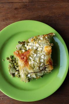 Green Vegetable Lasagna by the-wandering-girl #Lasagna #Green_Vegetables