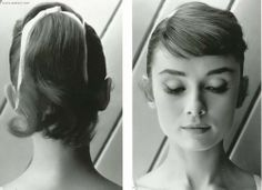 audrey hepburn: the chicest of chics poni, hair ribbons, audrey hepburn, style icons, audreyhepburn, hairstyl, pony tails, fring, bang