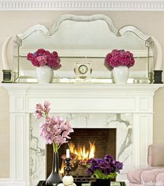 7 secrets to decorating the perfect mantel or shelf: