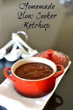 slow cooker ketchup recipe