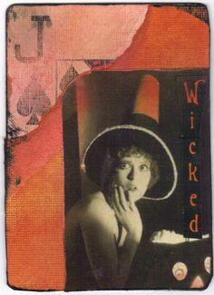 Vintage Halloween Cards | ATCsforALL - Gallery - Vintage Halloween Playing cards: PIF's