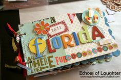 Make a little scrapbook of a favourite vacation for Mom!