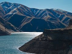 Lucky Peak Reservoir, ID--approximately 20 minutes from downtown Boise.