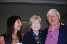 Katherine Ninos, Cathy Malchiodi, and Robert Waterman...