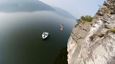 Cliff Jumping in Chatt. Town