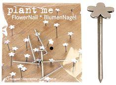 Flower Nails: Plant me! via designsponge. Thanks to @Formfire Glassworks!  tinyurl.com/7jran42