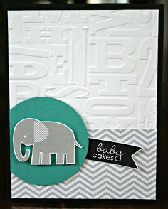 Stamping with Kim: Practical Scrappers: Inspired by Pinterest, Stampin' Up!, Kim Ryden, Zoo Babies, Banner Greetings