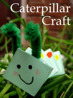 Caterpillar craft, book, and activity