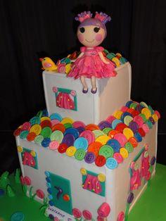 bolo lalaloopsi, birthday parti, button, bolo lalaloopsy, lalaloopsi parti, lalaloopsi cottag, lalaloopsi cake, lalaloopsi birthday, parti idea