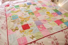 SEW Hip! Butterfly Quilt by Sewing Daisies