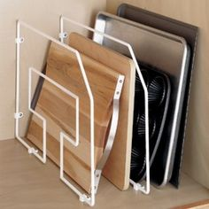 "KITCHEN TOOL: $10.99 Container Store  Tray Divider  19-1/2"" x 12"" h"