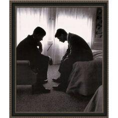 John F. Kennedy and Robert F. Kennedy by Hank Walker