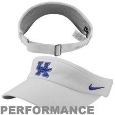 Nike Kentucky Wildcats Sideline Dri-FIT Adjustable Performance Visor - White