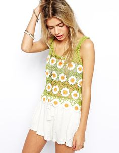 Daisy motifs and lots of chains -- I'm digging it (still even more ASOS)