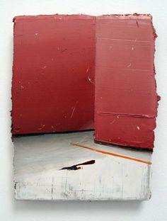 Matthias Weischer, Corner, 2005. Oil on canvas.