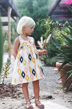 desert rose dress sewing pattern - gorgeous! // caila made