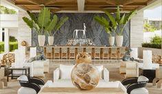 interior, bar design, outdoor patio, outdoor bars, kelli wearstler, hotel, viceroy anguilla, kelly wearstler, outdoor spaces