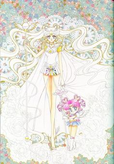 The Lovely Sailor Cosmos From Sailor moon Manga!