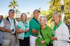 Emmanuel College Alumni St. Patrick's Event | Naples, FL | 3.15.14 - Tom & Pat Flaherty Moore '60, Barbara Forand Ahern '77 and Ron Ahern, Maureen Breenan