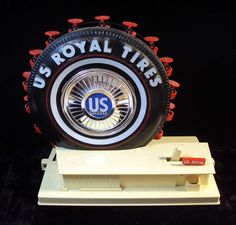 "U.S. Royal ""Giant Tire"" 1964-65 NY Worlds Fair Ferris Wheel Souvenir Toy"