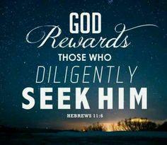 Diligently Seek God