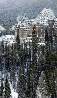 Chateau Banff Springs, Banff, Alberta, Canada