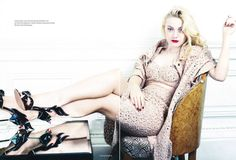 Dakota Fanning in Elle UK