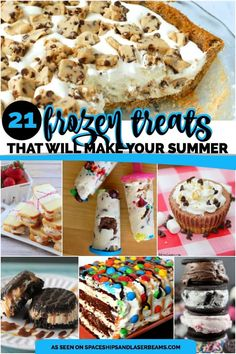 21 Frozen Treats for