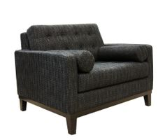 armchair, tuft arm, charcoal, centenni chair, living rooms, arm chair, chairs, armen live, live room