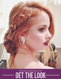 Debby Ryan attends the Elton John Oscar party. See the full tutorial and get her look!