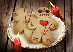Halloween cookie idea: Cursed Cookie Cutters. So fun to make!