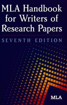 mla handbook for writers of research papers 7th edition download