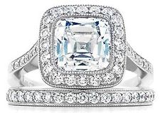 Tiffany Legacy ring...The whole reason I have an asscher cut diamond!!