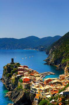 cinqu terr, italia, dream, beauti place, vacat, vernazza italy, travel, seaside, destin