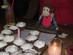 Pepe's first Birthday. We had to keep re-lighting the candle for him because he wanted more wishes. #Pepe