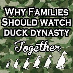 Watching Duck Dynasty as a Family