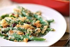Lightened - Up Green Bean Casserole
